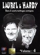 Laurel & Hardy - 5 courts m�trages comiques : volume 4