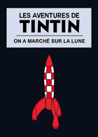 Les Aventures de Tintin - On a march� sur la Lune
