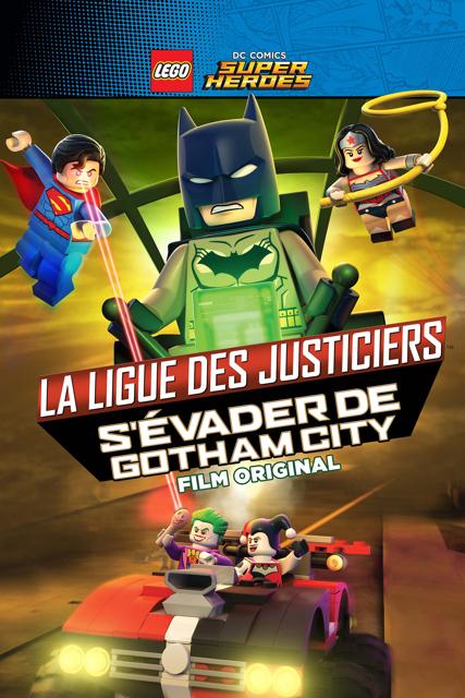 NetPlus VOD - LEGO DC: La Ligue des Justiciers S'évader de Gotham City